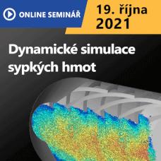 ON-LINE Seminář | Dynamické simulace sypkých hmot
