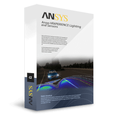 Ansys VRXPERIENCE Lighting and Sensors