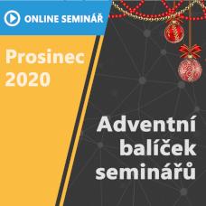 ON-LINE Seminář | Adventní balíček seminářů